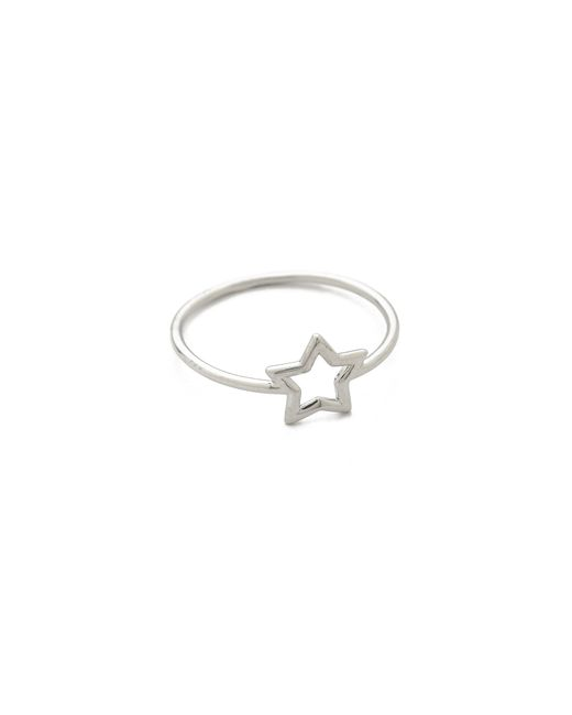 Aurelie Bidermann | Metallic Silver Star Ring | Lyst