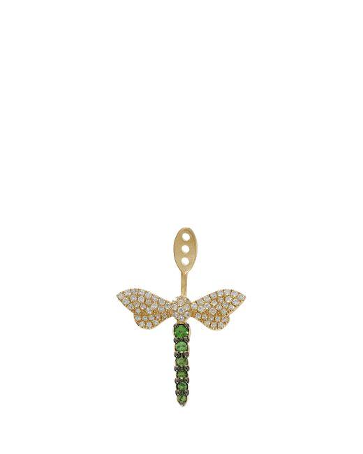 Yvonne Léon | Metallic Dragonfly Earring | Lyst