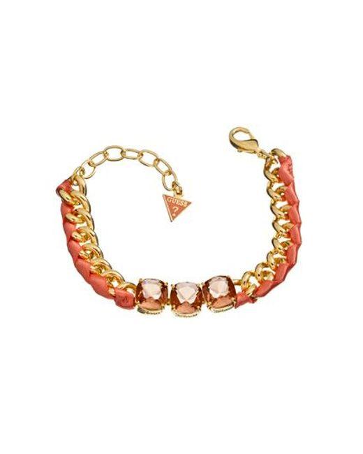 Guess   Metallic Heatwave Bracelet   Lyst