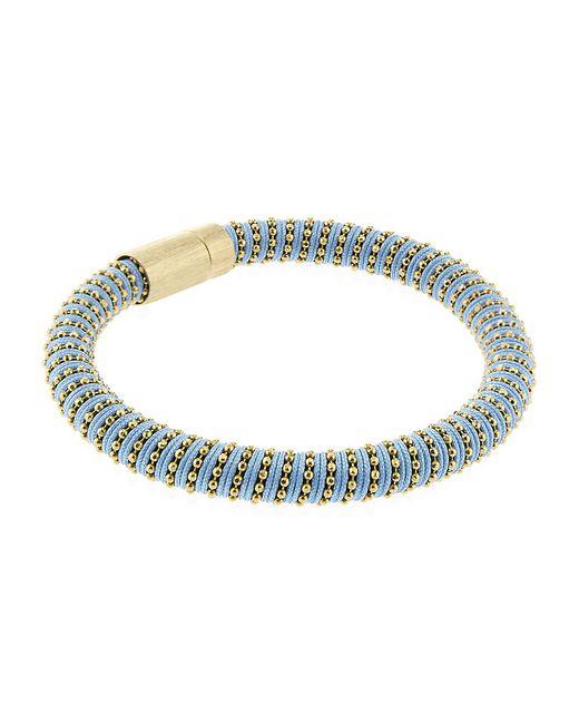 Carolina Bucci | Black Twister Bracelet Rose Gold | Lyst