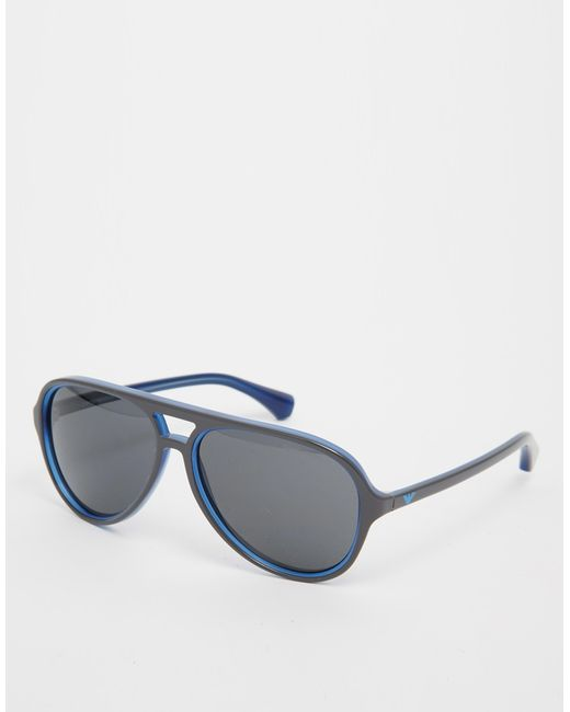f11c59e172886 Emporio Armani Aviator Unisex Sunglasses   United Nations System ...