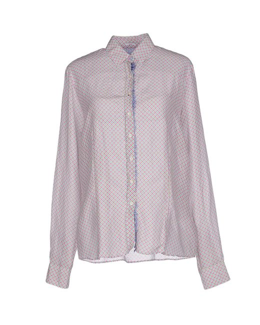 Robert Friedman | Purple Shirt | Lyst