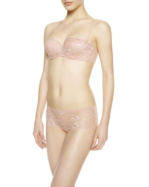 La Perla | Pink Bandeau Bra | Lyst