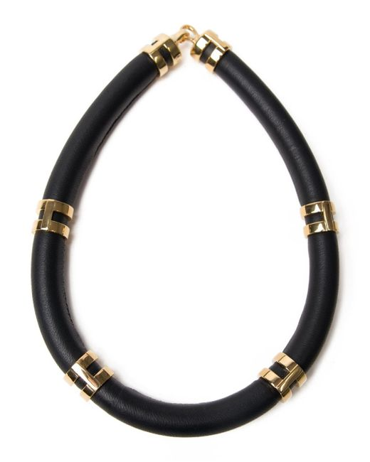 Lizzie Fortunato   Black 'double Take' Necklace   Lyst