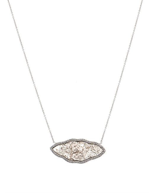 Susan Foster | Metallic Diamond Slice & Yellow-Gold Necklace | Lyst