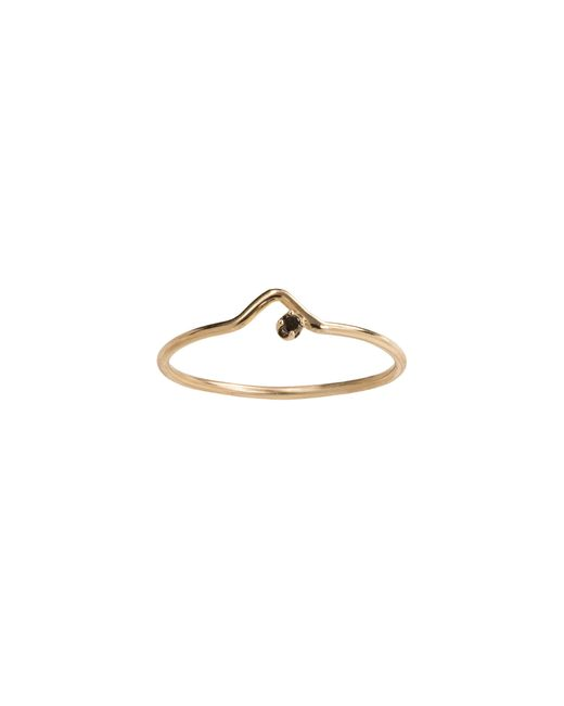 Wwake | Metallic Gold Triangle Lineage Ring | Lyst