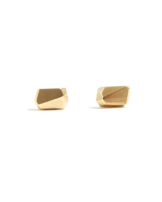 Melissa Joy Manning | Metallic Geometric Stud Earrings By Mute Object | Lyst