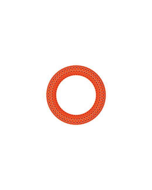 Vojd Studios | Orange Chevron Bangle | Lyst