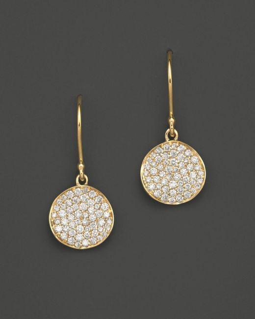 Ippolita | White 18k Gold Stardust Flower Earrings With Diamonds | Lyst