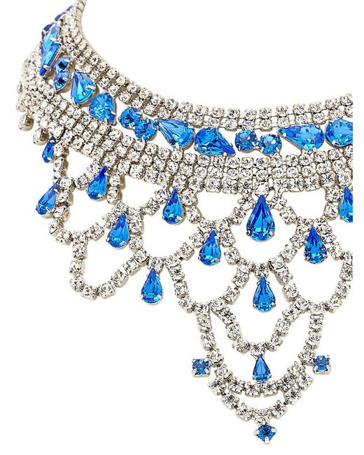 Tom Binns | Blue Noblesse Oblige Necklace | Lyst