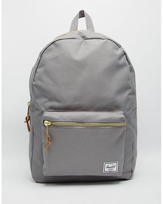 Herschel Supply Co Settlement Backpack: Herschel Supply Co. 21l Settlement Backpack In Gray For