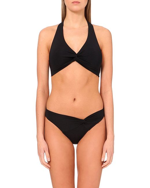 Jets by Jessika Allen | Black Intuition Halterneck Bikini Top | Lyst