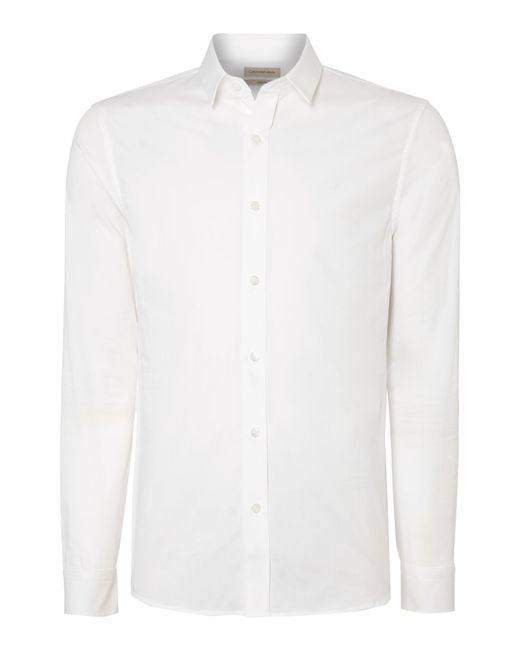 Calvin Klein | White Wilbert Slim Fitting Shirt for Men | Lyst
