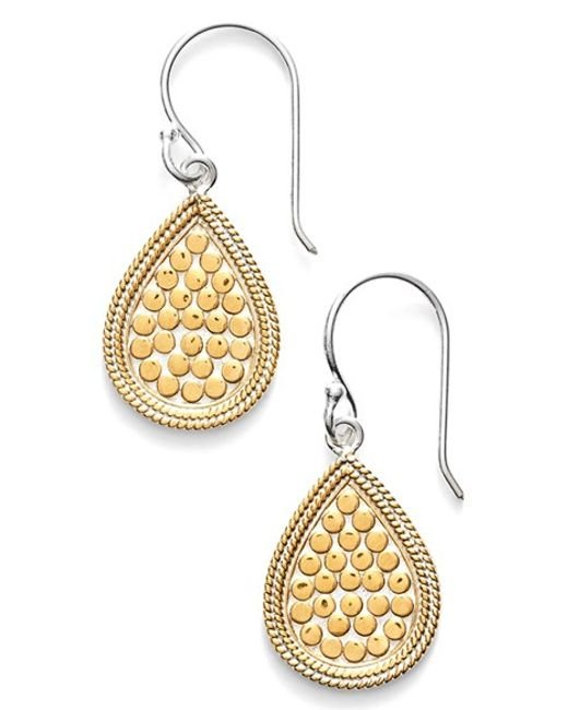 Anna Beck | Metallic 'gili' Small Teardrop Earrings | Lyst