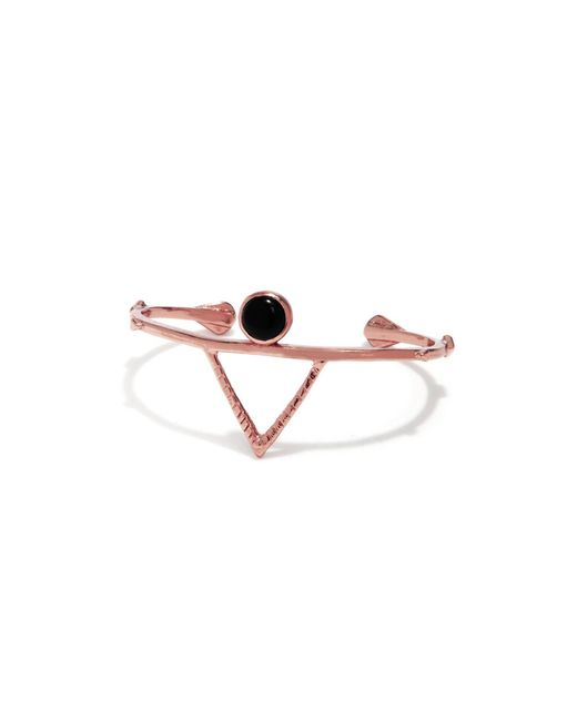 Bing Bang | Pink Temple Amulet Cuff | Lyst