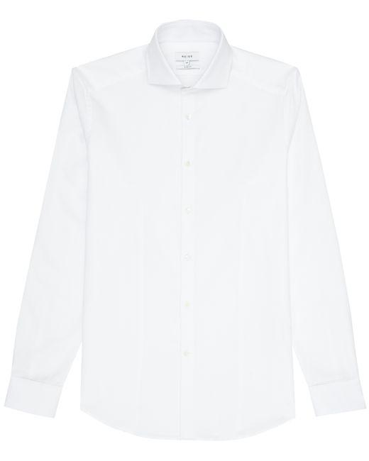 Reiss brock cutaway collar shirt in white for men save for White cutaway collar shirt