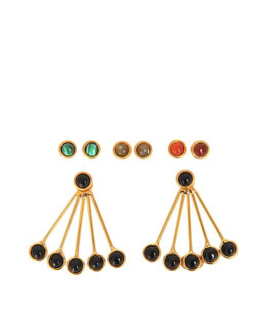 Sylvia Toledano | Black Les Infidèles Ear Jacket Set Of Earrings | Lyst