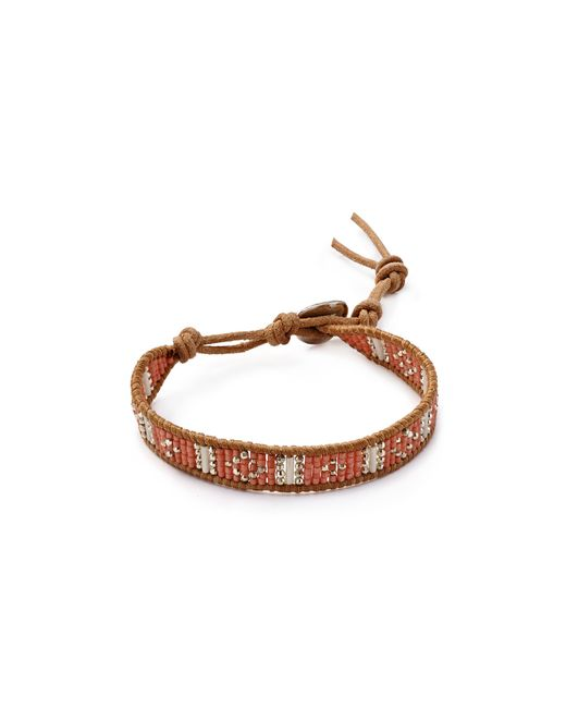 "Chan Luu | Brown 6"" Seed Bead Single 