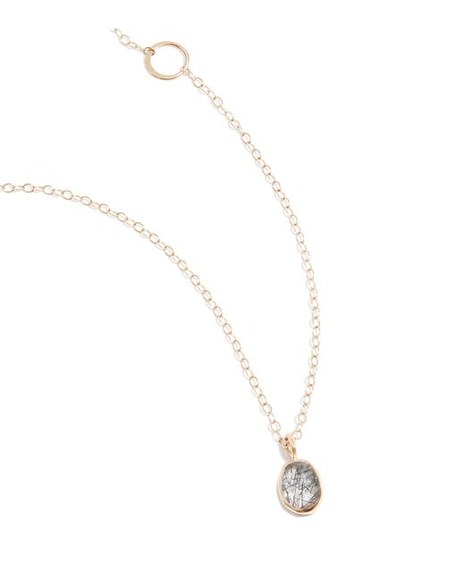 Melissa Joy Manning | Metallic Tourmalated Quartz Necklace | Lyst