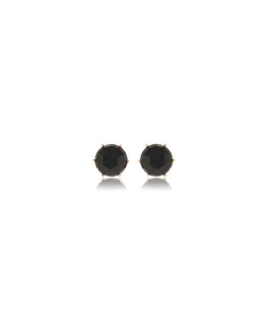 Anna Sheffield | Pink Rose Gold Eleonore Stud Earrings | Lyst