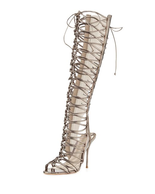 Sophia webster Clementine Strappy To-the-knee Gladiator