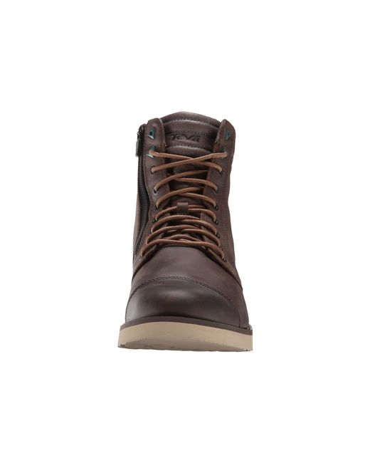 Teva   Brown Durban Tall Leather for Men   Lyst