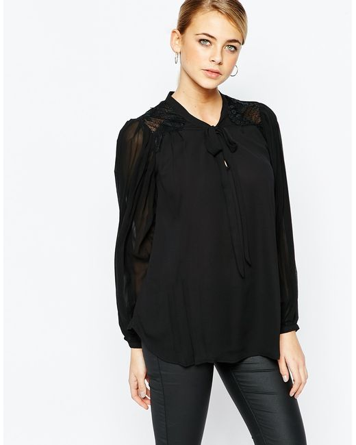 Black Blouse Oasis 11