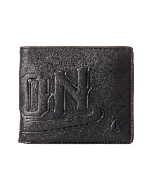 Nixon | Black Hyde Bi-Fold Wallet for Men | Lyst