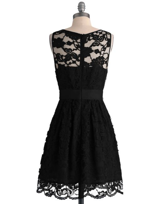 BB Dakota | Black When The Night Comes Dress In Noir | Lyst