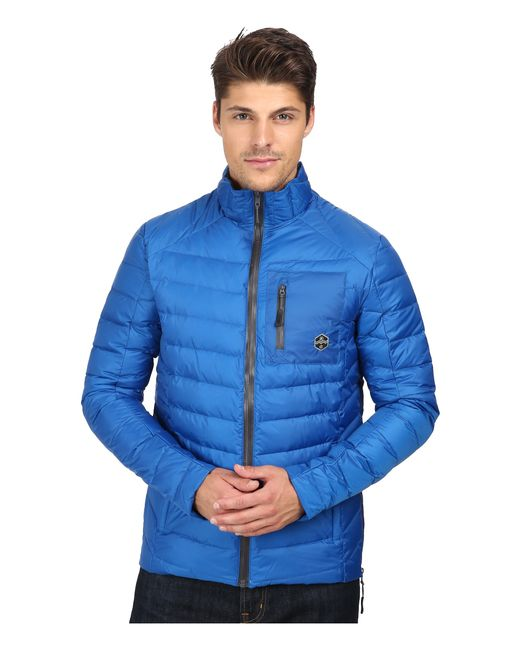 Khombu | Blue Lightweight Puff for Men | Lyst
