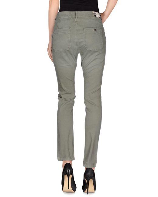 Twin Set | Green Casual Trouser | Lyst