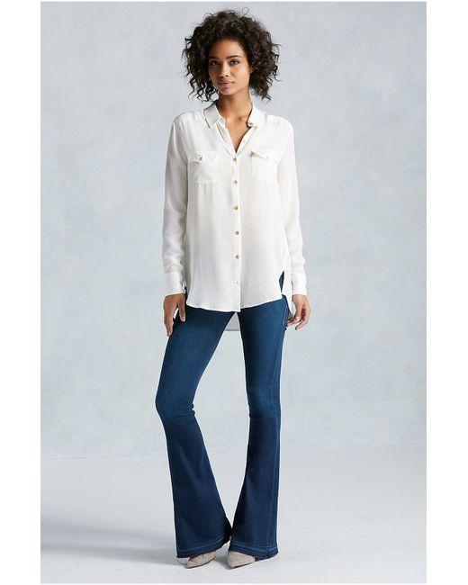 True Religion | Blue Low-rise Straight-leg Jeans | Lyst