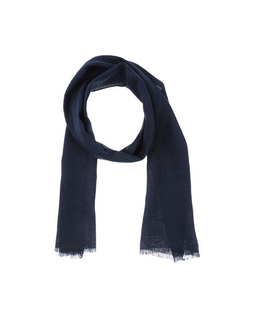 Hardy Amies | Blue Oblong Scarf for Men | Lyst