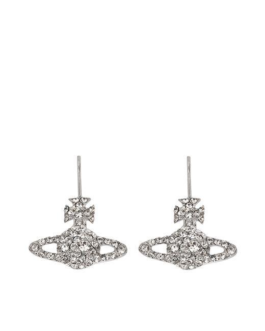 Vivienne Westwood | White Grace Bas Relief Earrings | Lyst