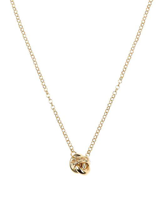 DKNY | Metallic Necklace | Lyst