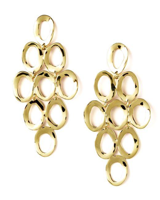 Ippolita | Metallic Open Cascade Earrings | Lyst