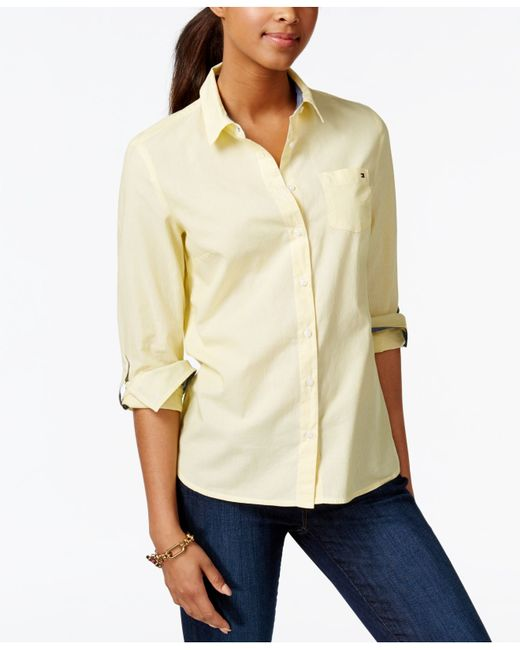 Tommy hilfiger cornell striped shirt only at macy 39 s in for Tommy hilfiger fitzgerald striped shirt