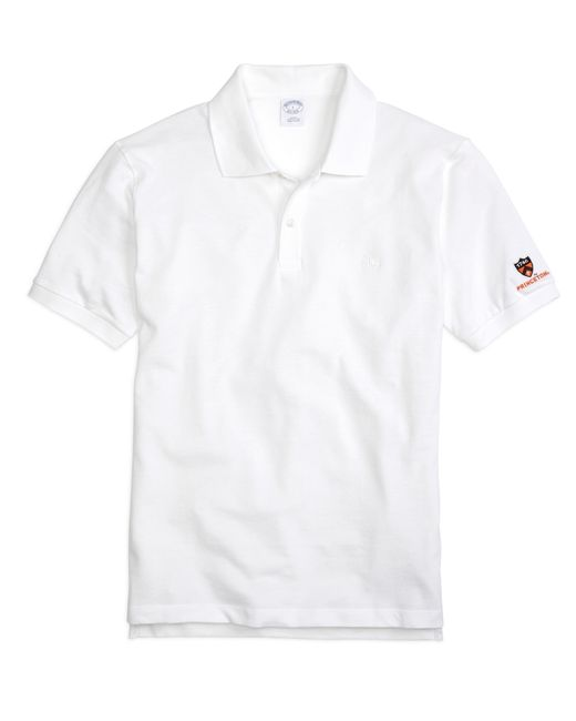 Brooks Brothers | White Princeton University Slim Fit Polo for Men | Lyst