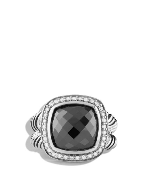 David Yurman | Metallic Albion Ring With Hematine & Diamonds | Lyst