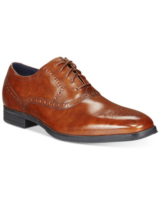 Cole Haan | Brown Montgomery Plain-toe Oxfords for Men | Lyst