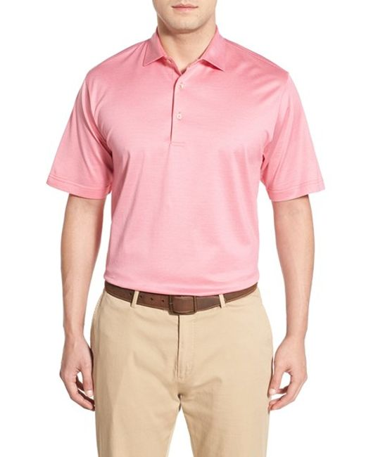 Peter millar 39 finch 39 s stripe 39 egyptian cotton lisle polo for Peter millar women s golf shirts