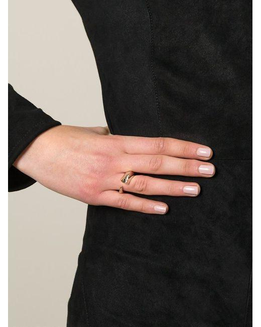 Shaun Leane | Metallic Tusk Ring | Lyst
