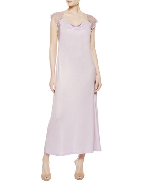 La Perla | Purple Night Dress | Lyst