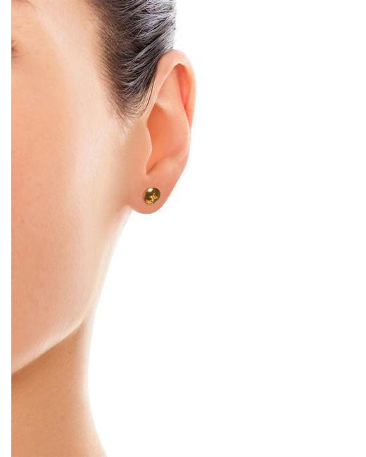 Alison Lou | Metallic Yellow-Gold Screw Head Earring | Lyst