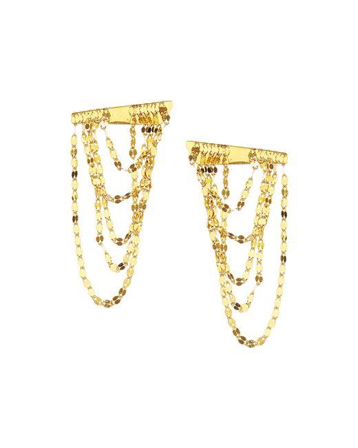 Lana Jewelry | Yellow 14k Gold Elite Small Draping Earrings | Lyst