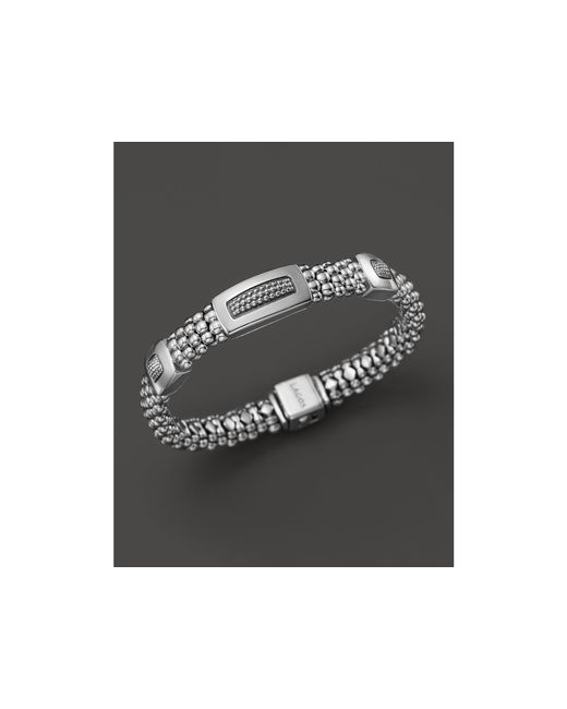 Lagos | Metallic Sterling Silver Imagine 3 Station Rope Bracelet | Lyst