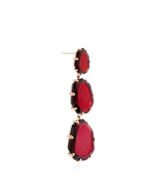 Annoushka | Red Shard Triple Drop Earrings | Lyst