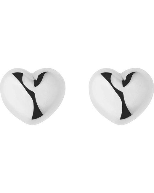 Links of London   Metallic Heart Baby Earrings   Lyst