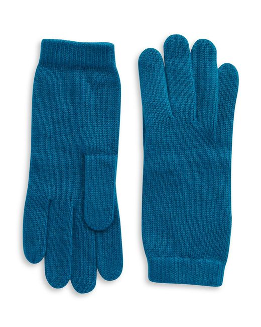 Portolano | Blue Luxe Knit Cashmere Blend Gloves | Lyst