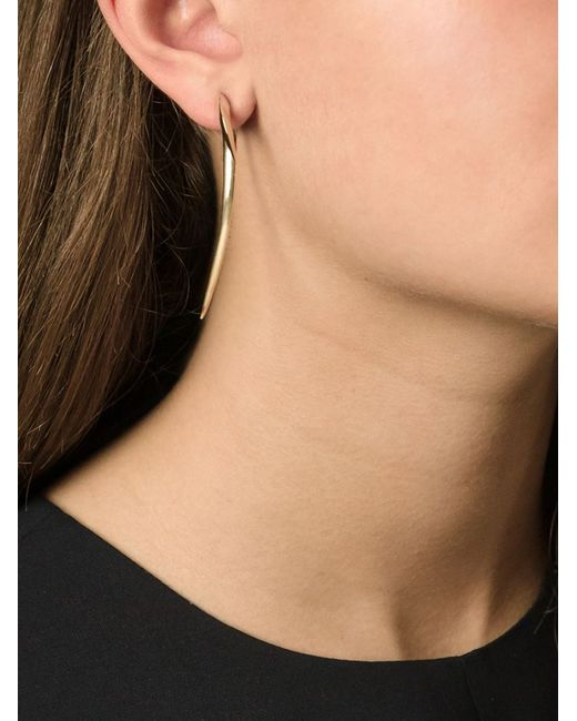 Shaun Leane   Metallic 'signature Tusk' Long Earrings   Lyst